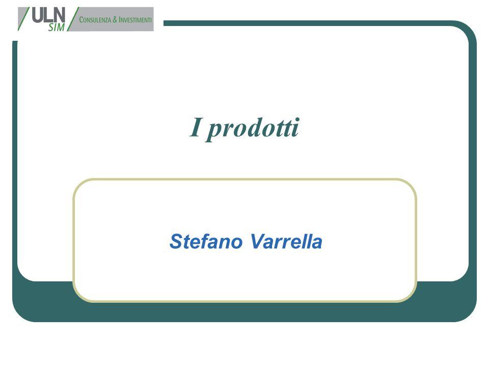 I prodotti Stefano Varrella