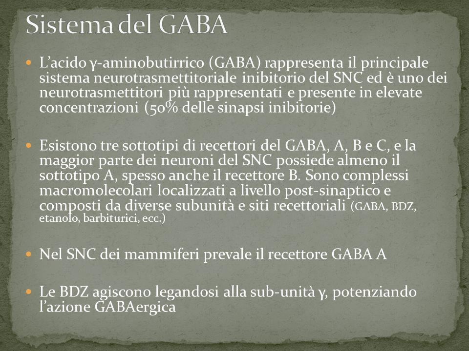 Sistema del GABA