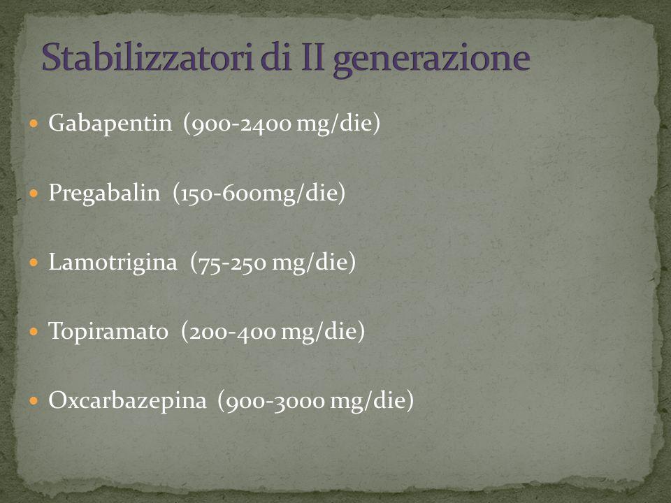 Stabilizzatori di II generazione