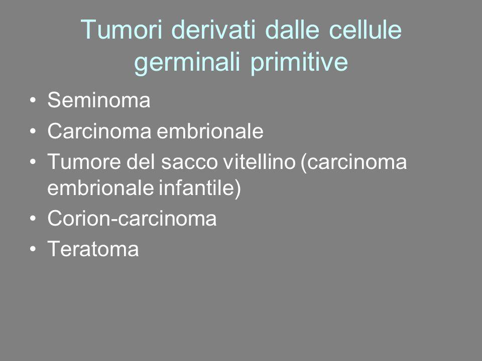 Tumori derivati dalle cellule germinali primitive
