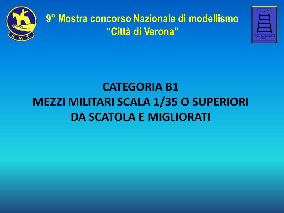 MEZZI MILITARI SCALA 1/35 O SUPERIORI DA SCATOLA E MIGLIORATI