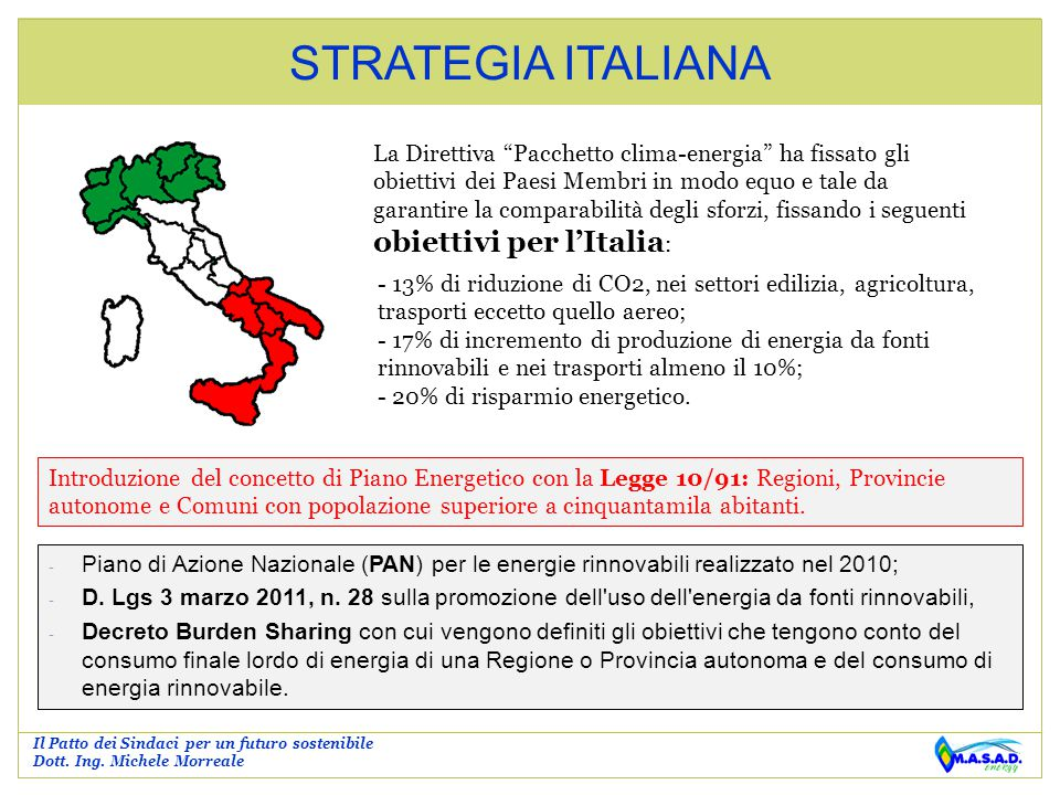 STRATEGIA ITALIANA