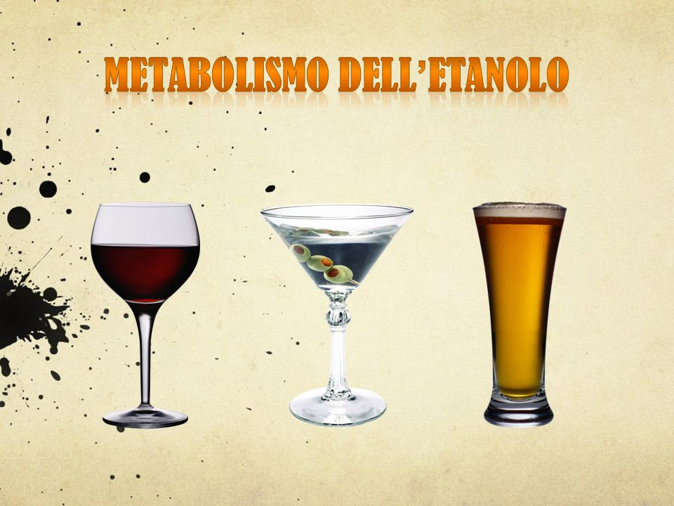 Metabolismo dell'etanolo