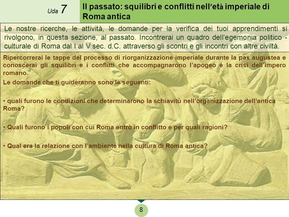 Il passato: squilibri e conflitti nell'età imperiale di Roma antica