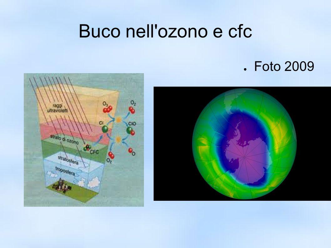 Buco nell ozono e cfc Foto 2009