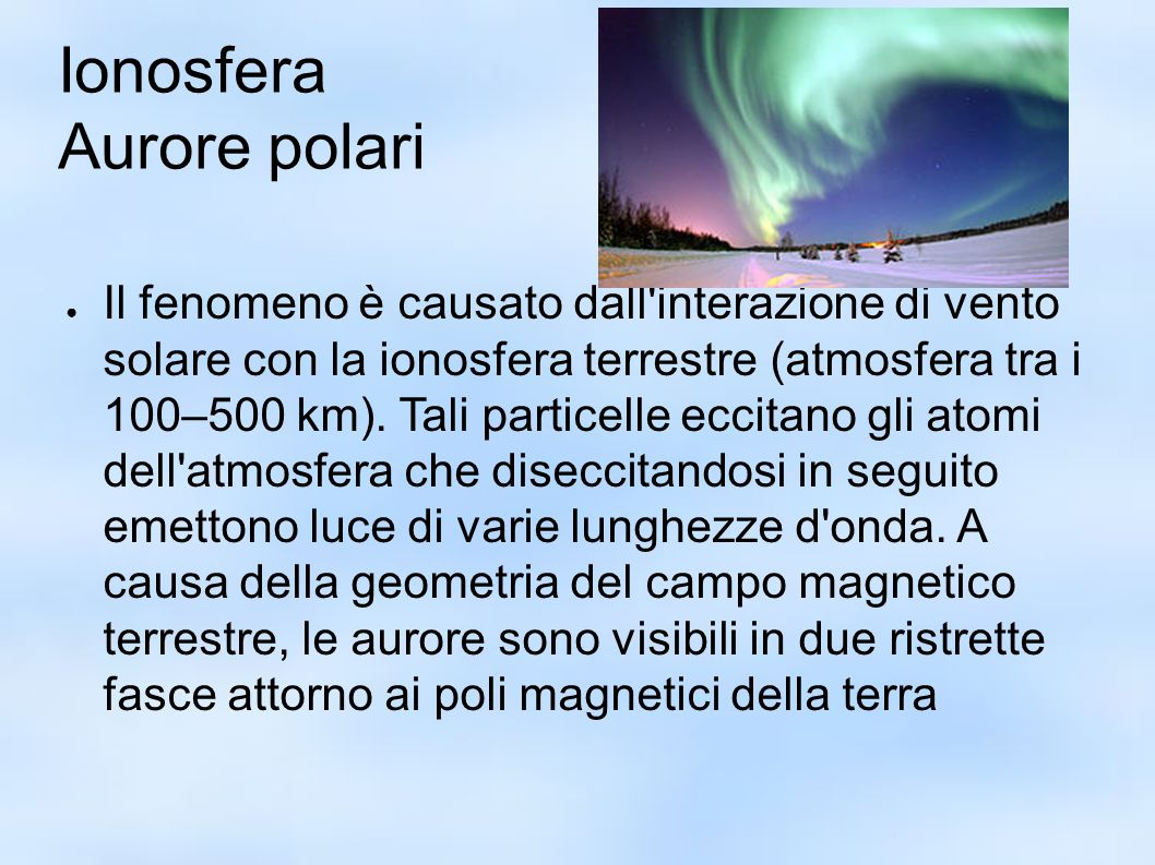 Ionosfera Aurore polari
