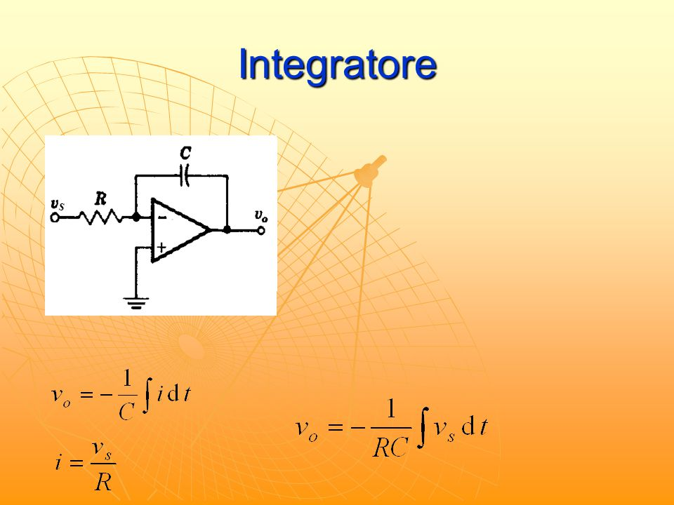 Integratore s IN = 0 s