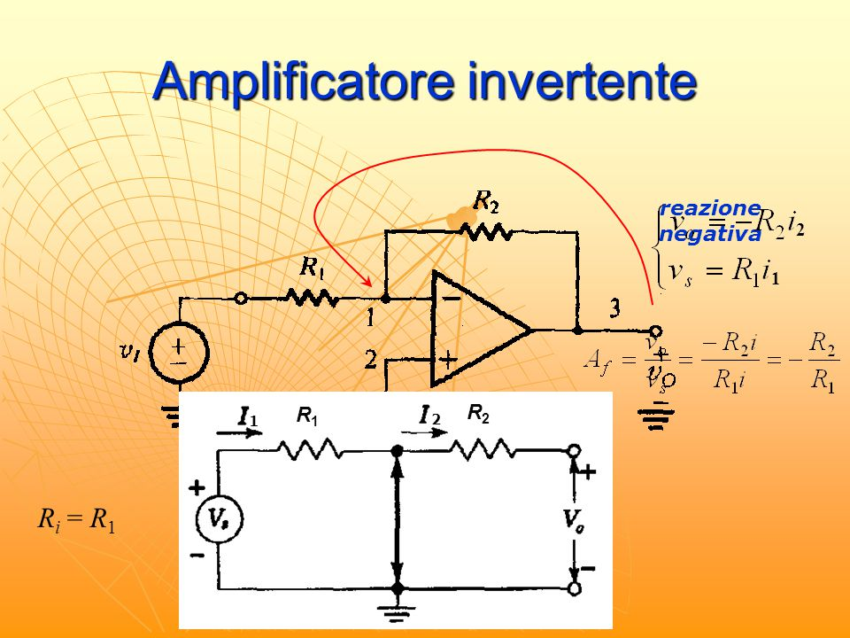 Amplificatore invertente