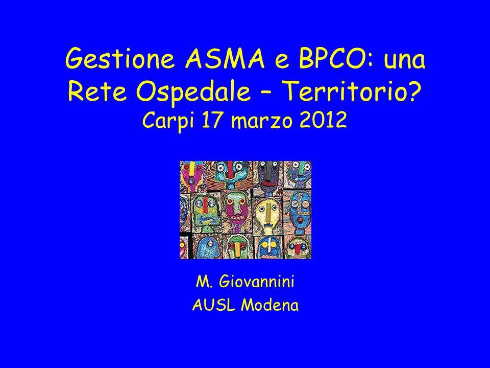 M. Giovannini AUSL Modena