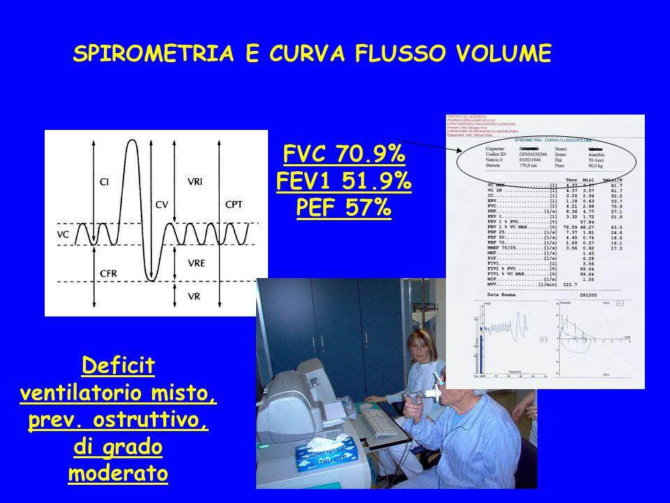 SPIROMETRIA E CURVA FLUSSO VOLUME