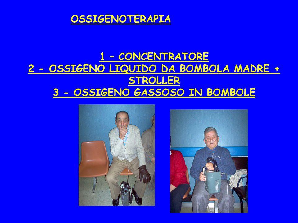 2 - OSSIGENO LIQUIDO DA BOMBOLA MADRE + STROLLER
