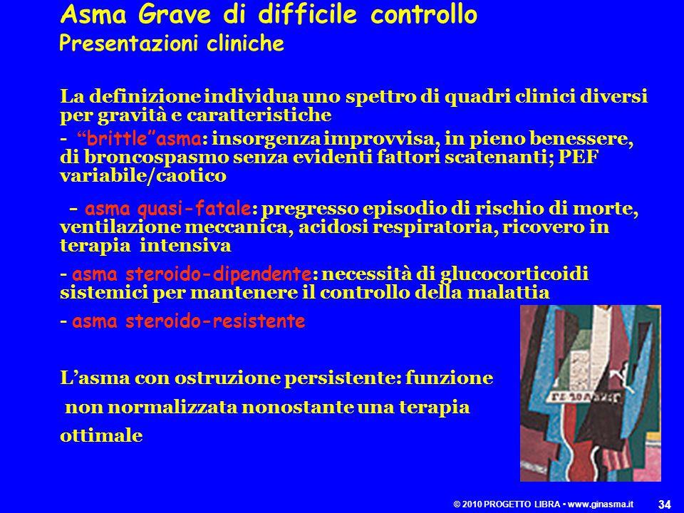 © 2010 PROGETTO LIBRA • www.ginasma.it