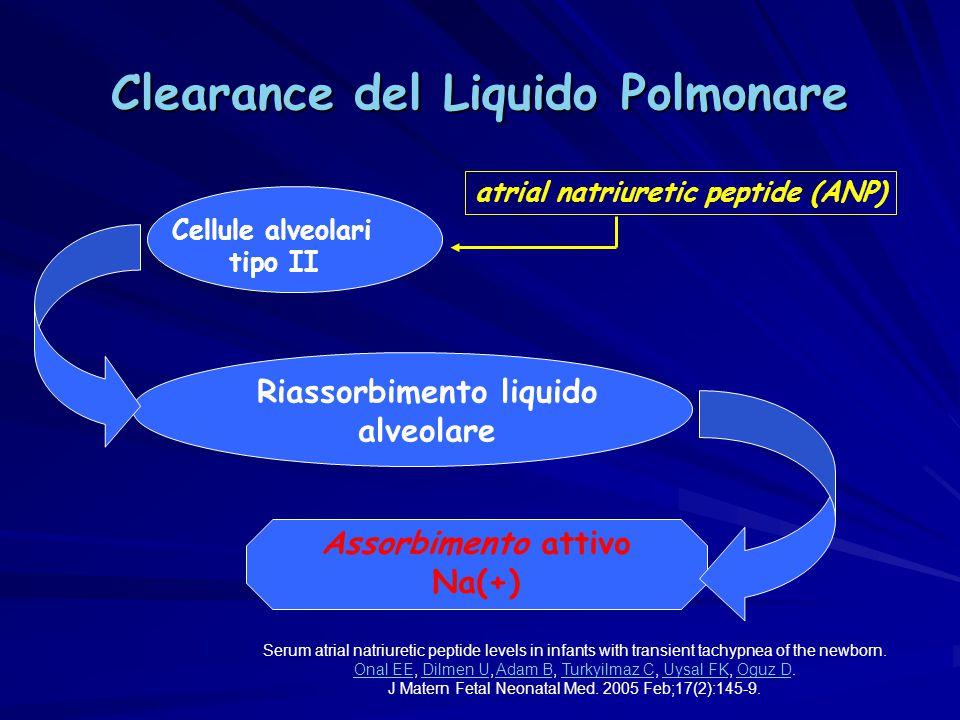 Clearance del Liquido Polmonare