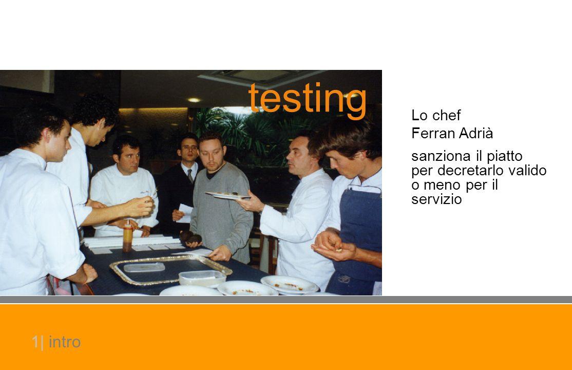 testing 1| intro Lo chef Ferran Adrià