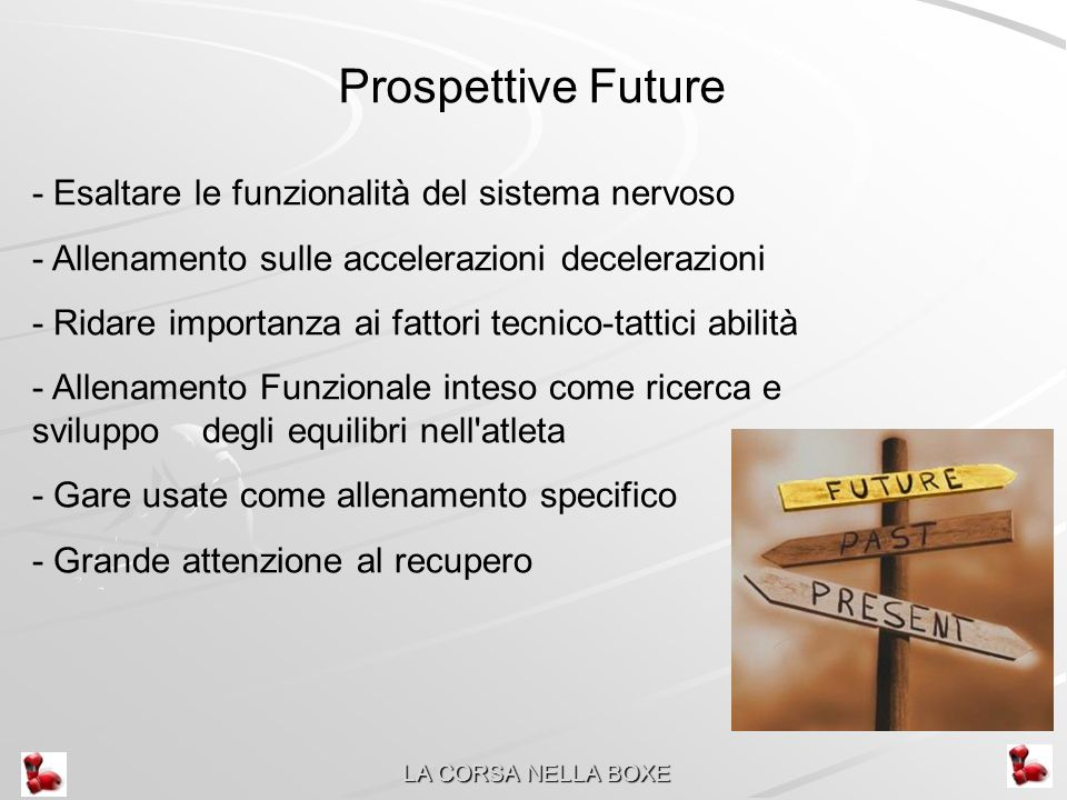 Prospettive Future - Esaltare le funzionalità del sistema nervoso