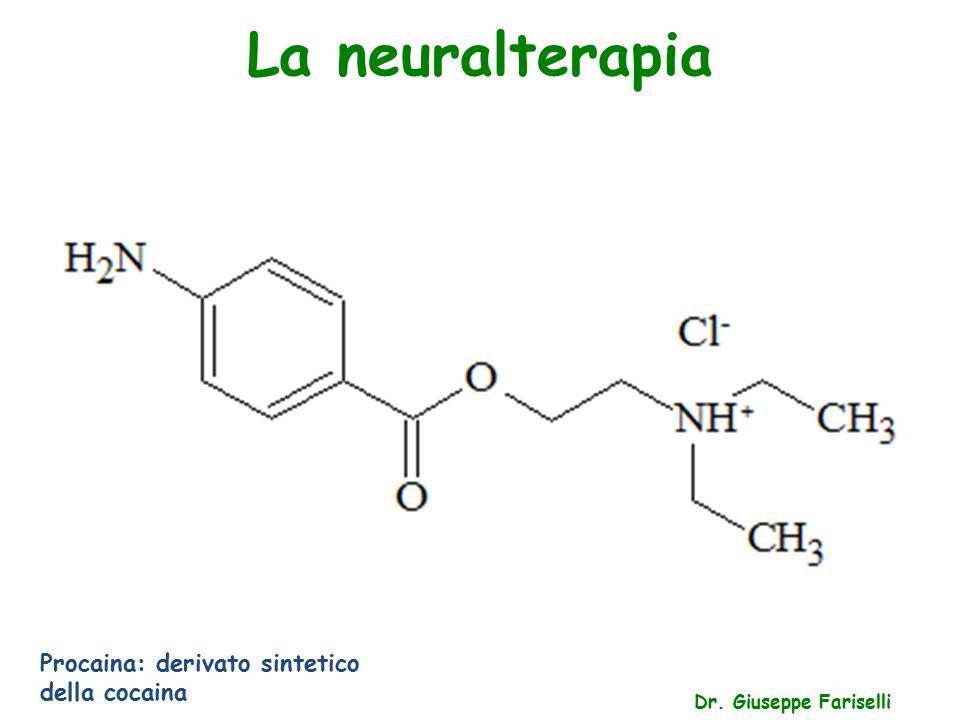 La neuralterapia Procaina: derivato sintetico della cocaina