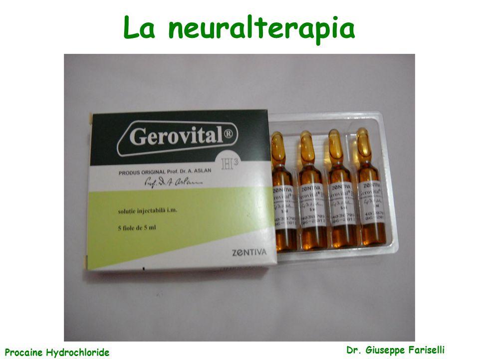 La neuralterapia Procaine Hydrochloride Dr. Giuseppe Fariselli