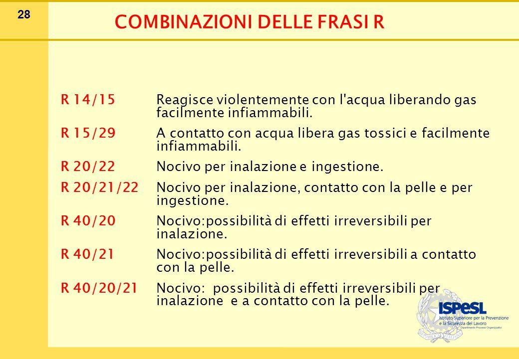 CONSIGLI DI PRUDENZA ALLEGATO IV D.Lgs.52/97