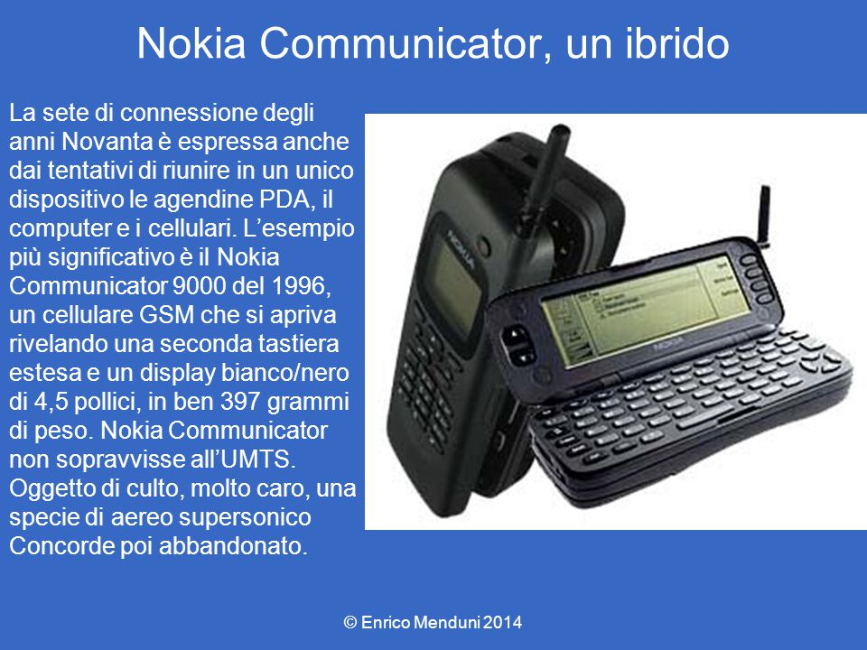 Nokia Communicator, un ibrido