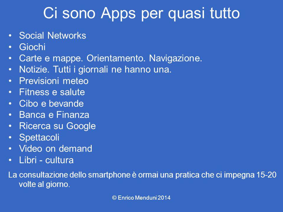 Ci sono Apps per quasi tutto