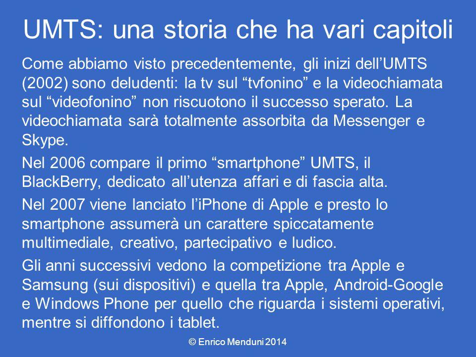UMTS: una storia che ha vari capitoli