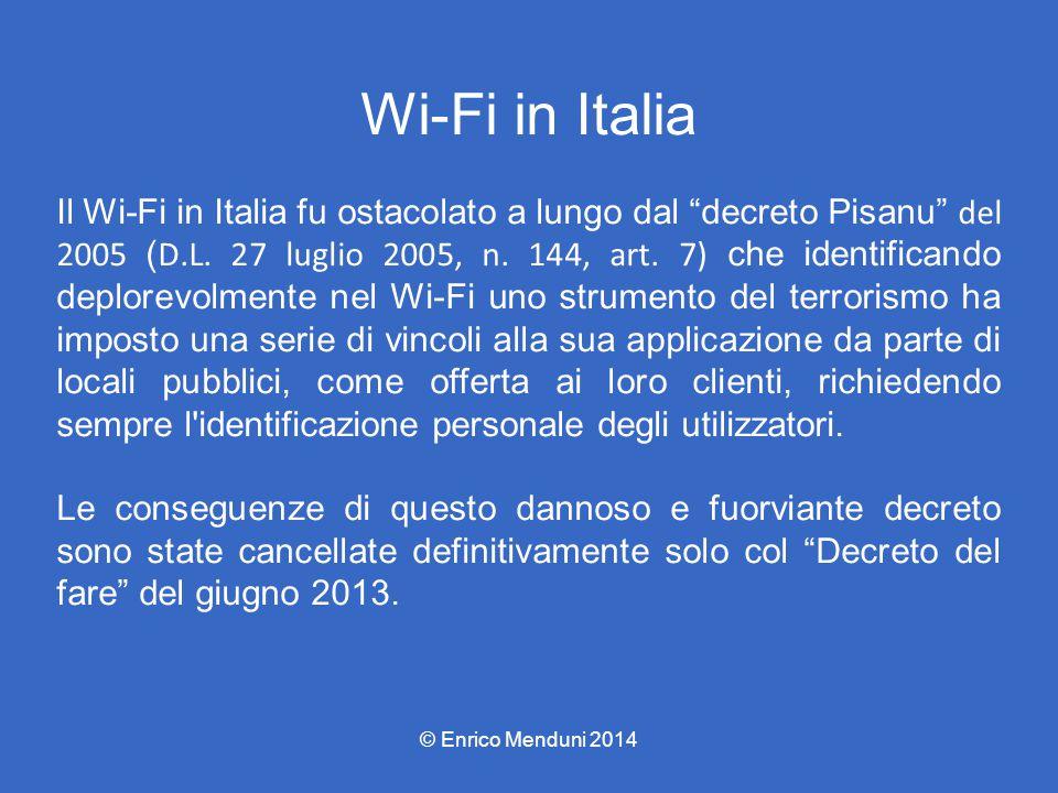 Wi-Fi in Italia