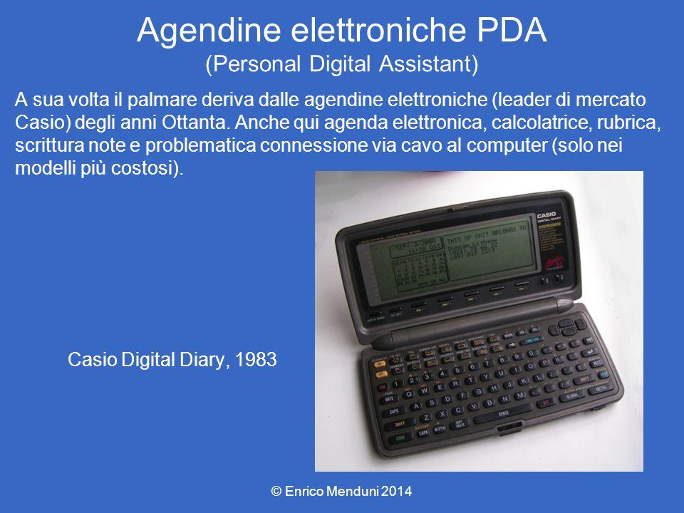 Agendine elettroniche PDA (Personal Digital Assistant)