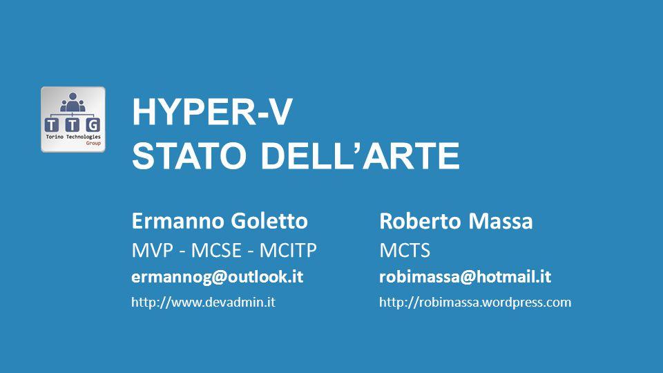 Hyper-V Stato deLl'arte