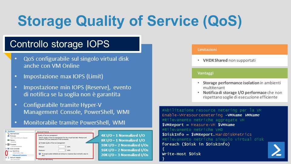 Storage Quality of Service (QoS)