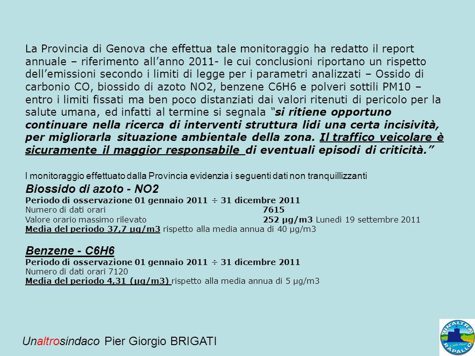 Unaltrosindaco Pier Giorgio BRIGATI