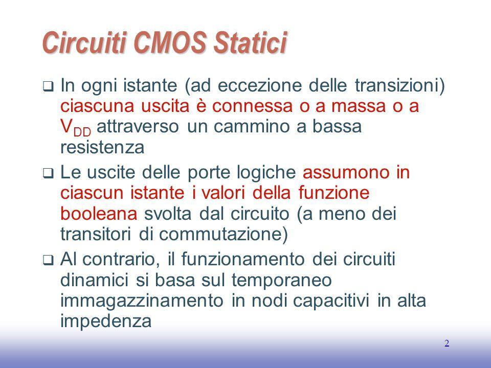 EE141 Circuiti CMOS Statici.