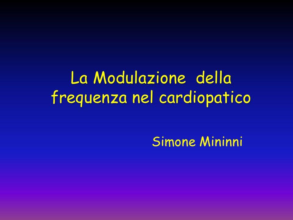 La Modulazione della frequenza nel cardiopatico