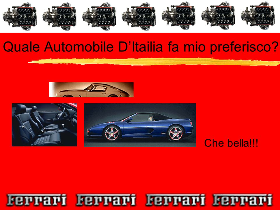 Quale Automobile D'Itailia fa mio preferisco