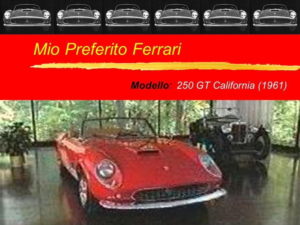 Modello: 250 GT California (1961)