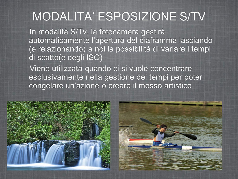 MODALITA' ESPOSIZIONE S/TV