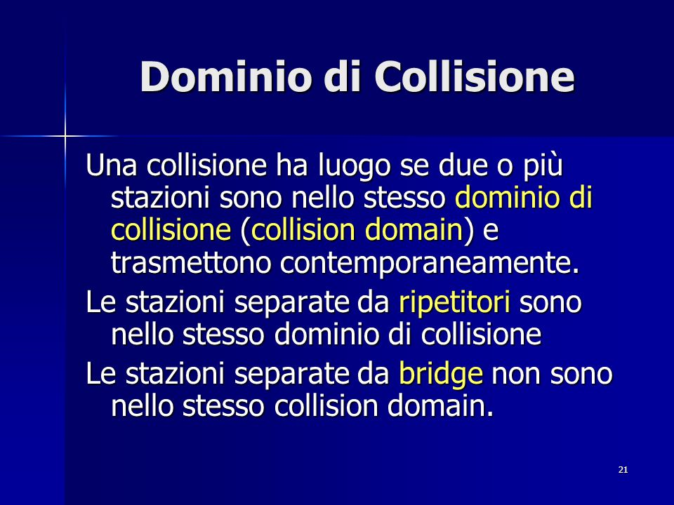 Dominio di Collisione