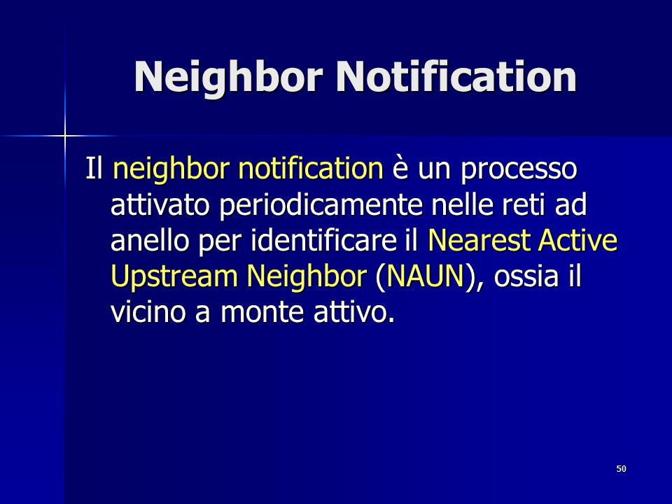 Neighbor Notification