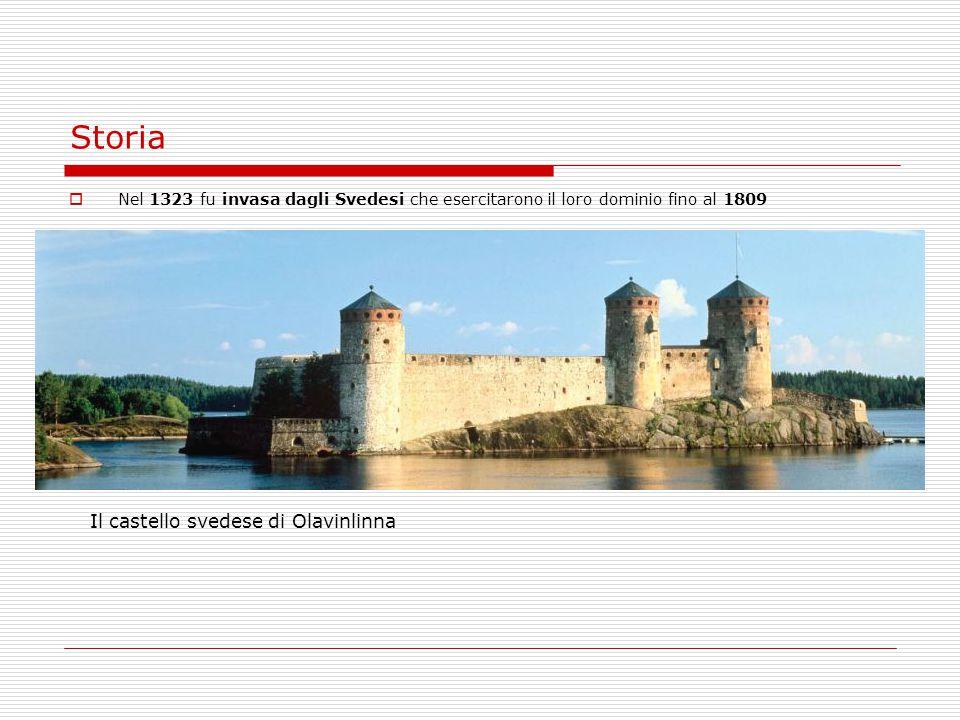 Storia Il castello svedese di Olavinlinna
