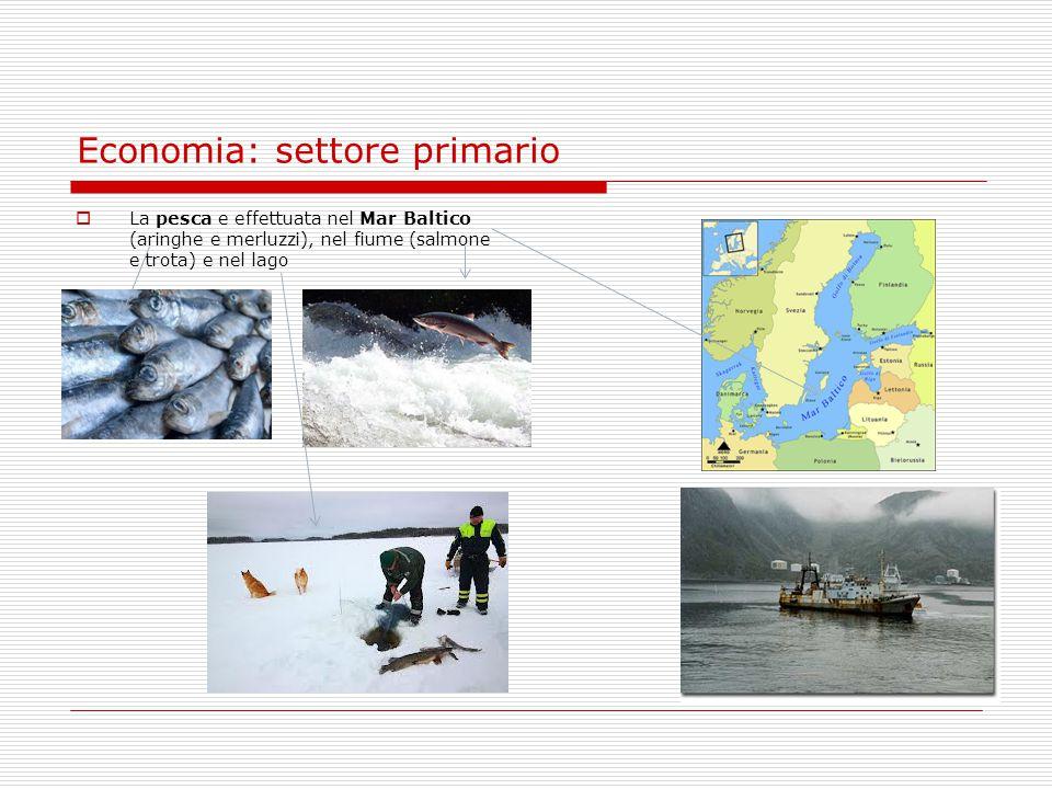 Economia: settore primario