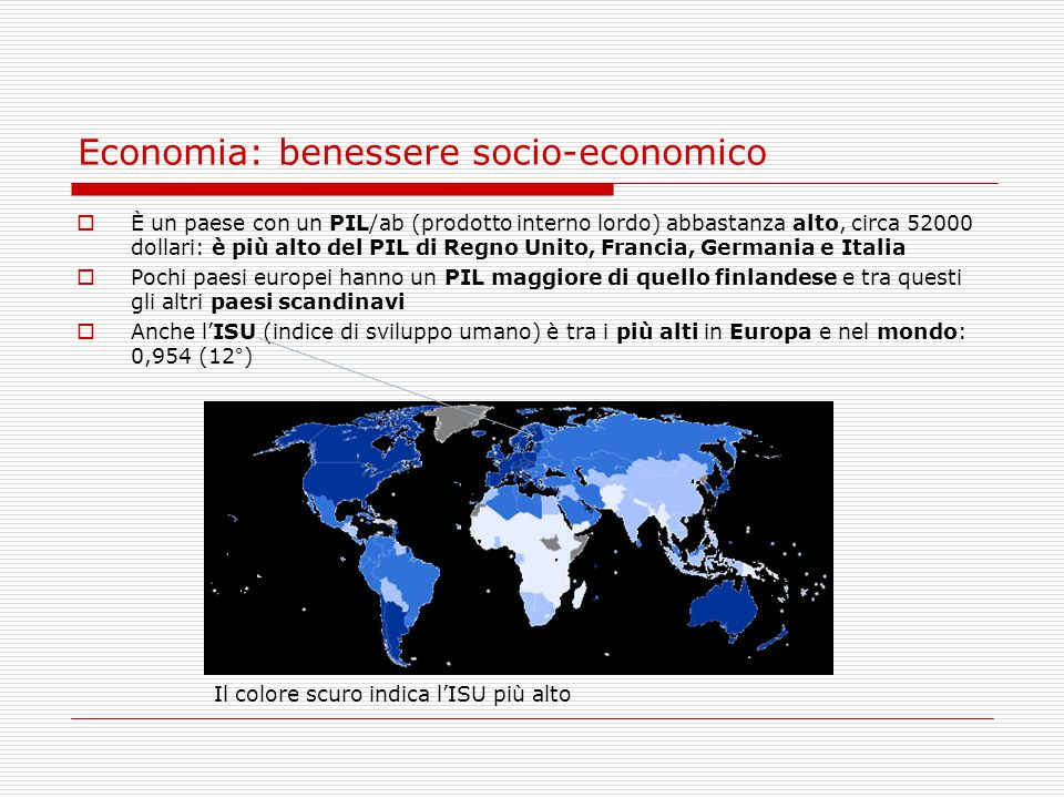 Economia: benessere socio-economico