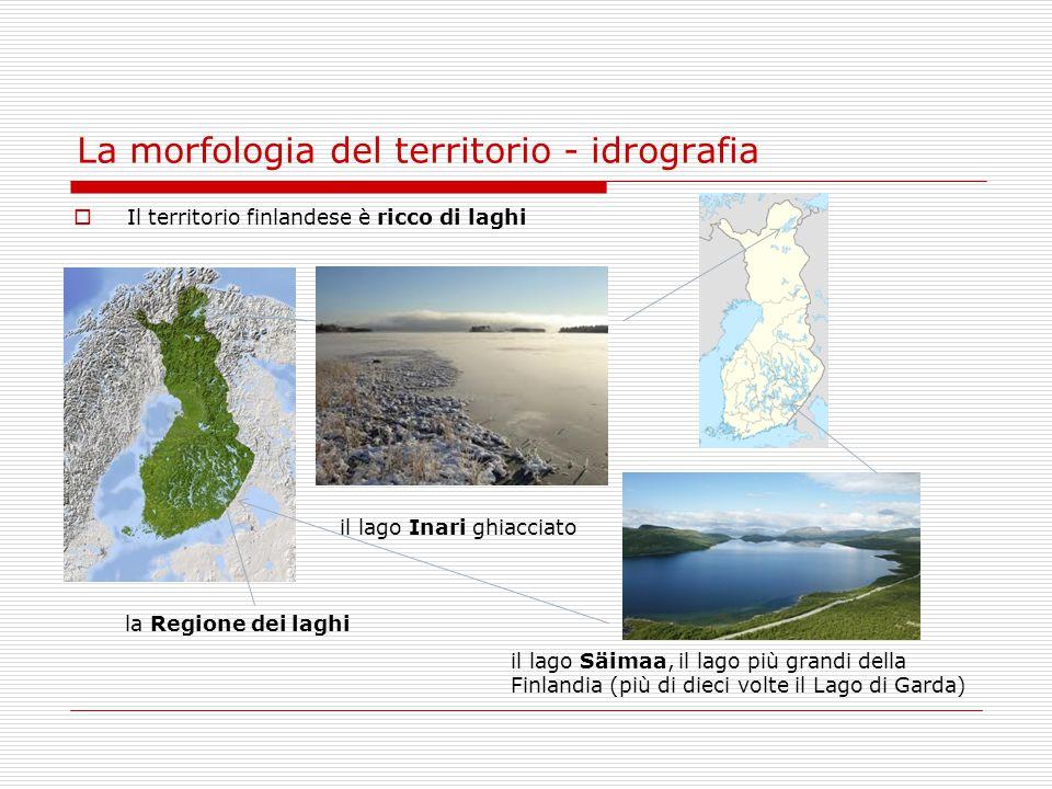 La morfologia del territorio - idrografia