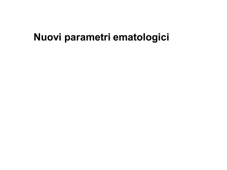 Nuovi parametri ematologici