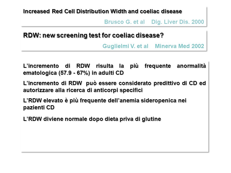 RDW: new screening test for coeliac disease