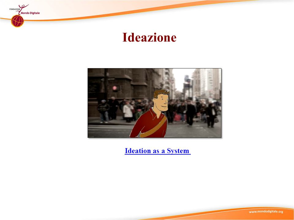 Ideazione Ideation as a System