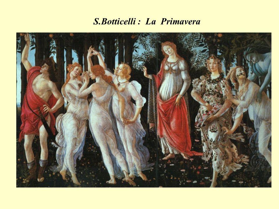 S.Botticelli : La Primavera