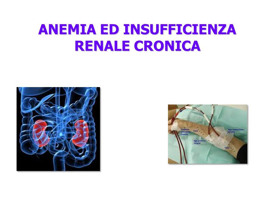 ANEMIA ED INSUFFICIENZA RENALE CRONICA
