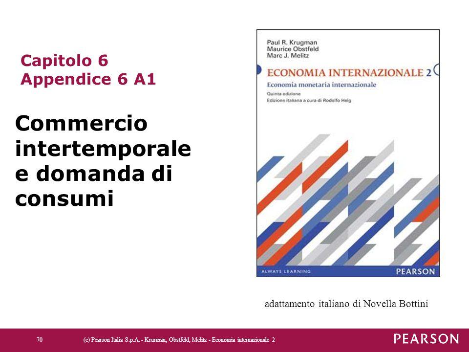 Commercio intertemporale e domanda di consumi