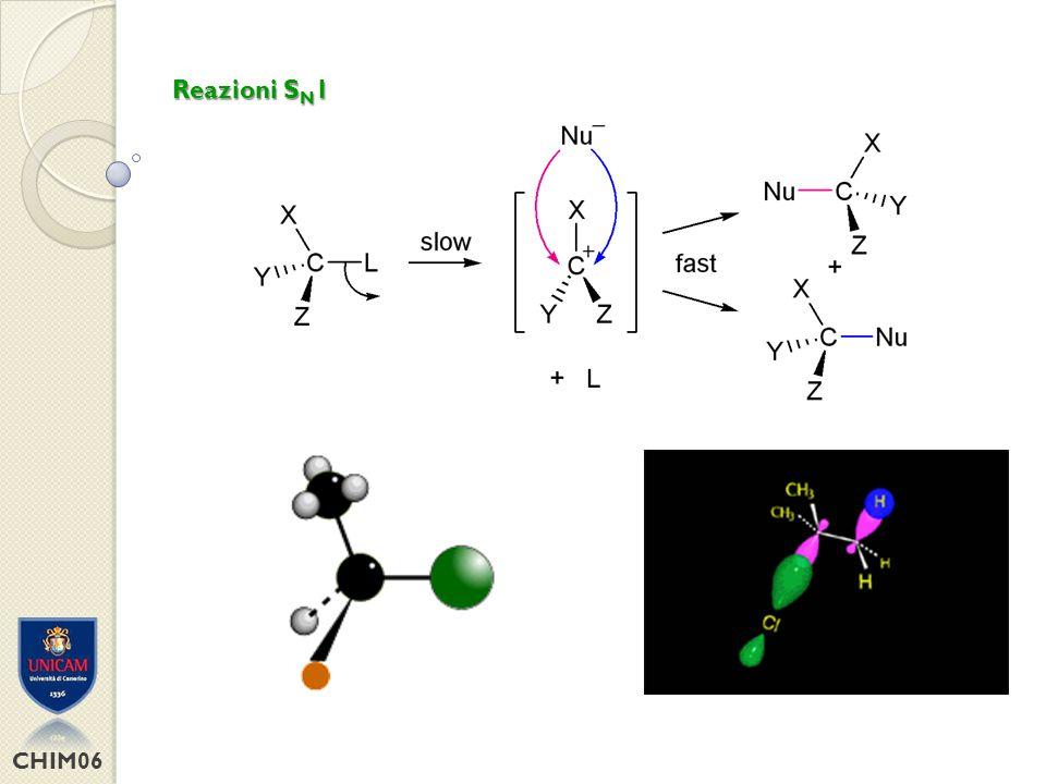 Reazioni SN1 CHIM06