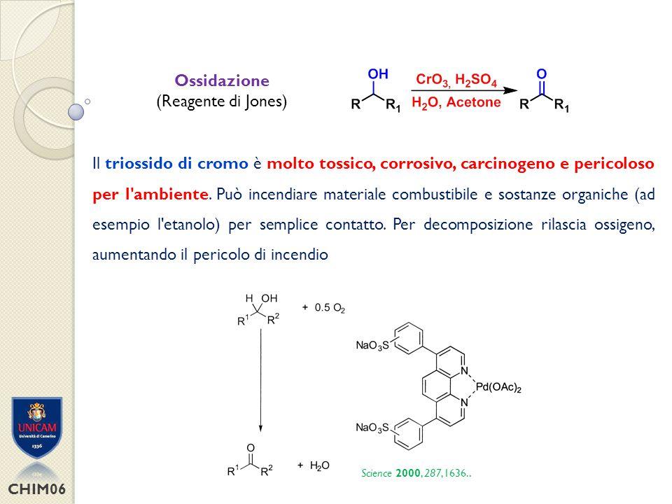 Ossidazione (Reagente di Jones)