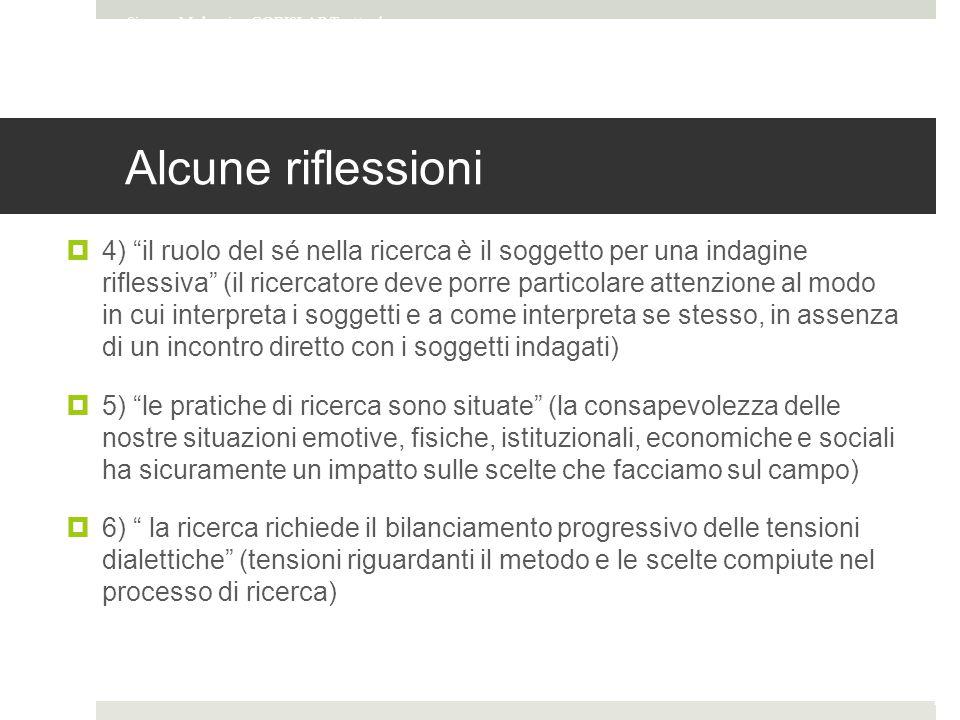 Simone Mulargia - CORISLAB Tratto da Entografia online materiale del corso Internet studies di Francesca Comunello